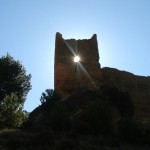 Castell de Relleu al migdia.