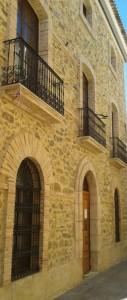Entrada del Museu de Relleu